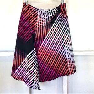Worthington Flowing Asymmetrical Skirt